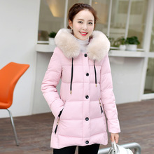 2016 New Arrival None Long Solid Zipper Regular Standard Full Cotton Broadcloth Down Parkas
