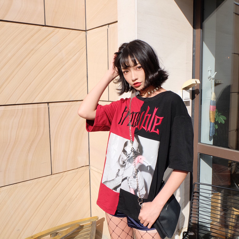 HTB1VDkZQXXXXXbrapXXq6xXFXXX8 - Kylie jenner Trouble T-Shirts Summer