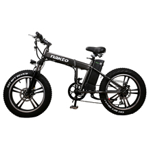 """20inch electric mountian bicycle snow fat e-bike 48v-350w high speed motor electric bike fold frame alloy whheel MTB E-BIKE cheap One Seat Lithium Battery Aluminum Alloy 30km h Luxury Type 20L4810Y 31 - 60 km 251 - 350w Brushless HRTC 20"""""""