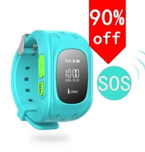 GPS smart uhr Kinder Smart Watch Kind Jungen Mädchen SmartWatch Phone Sync Intelligente Uhr Unterstützung Sim-karte Für Samsung Android