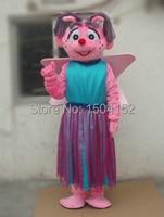Abby Cadabby Mascot Costume Fancy Dress Fairy Cartoon Mascot Costumes Head Material POLYFOAM Free Shipping