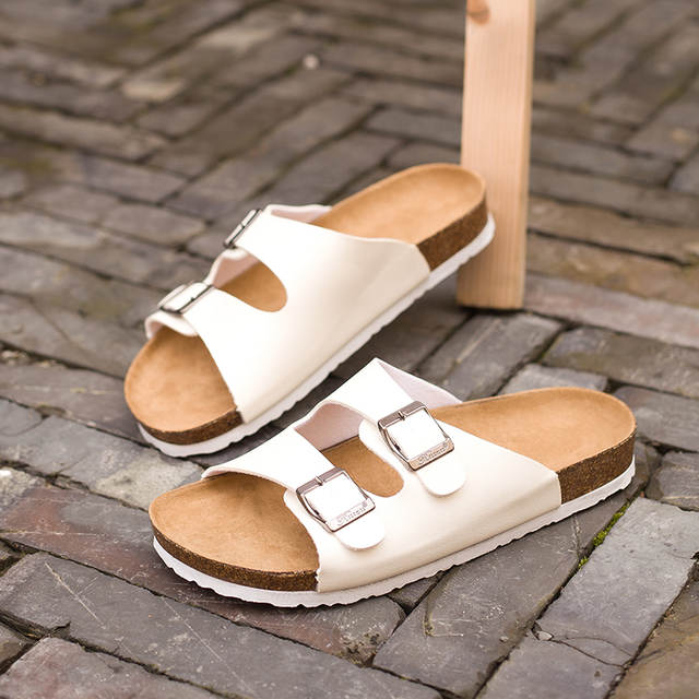 fb7ae77fb8b5 placeholder Lotus Jolly Flip Flops 2018 Summer Soft Cork Slides Sandals  Slippers Women Lovers Casual Beach Shoes