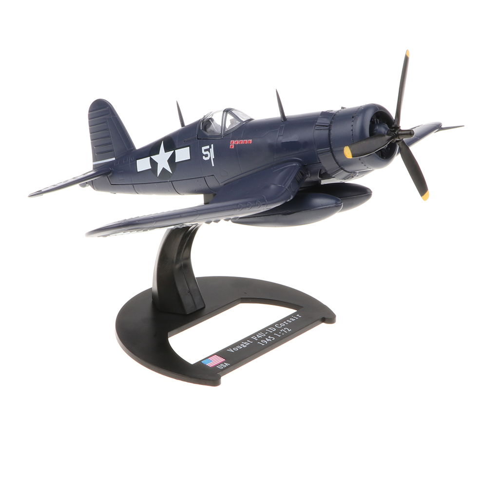 1/72 USA Vought F4U Model WWII Fighter Aircraft Model Kids Toy Gift аэрострел 1 toy т56150 air fighter