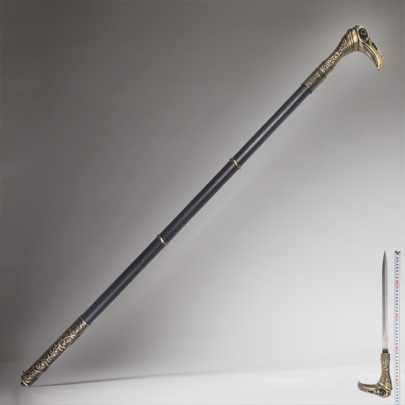 Game Props, COSPLAY Props, Walking Stick Swords, Adult Toys, Adult Crutches 98cm Cane