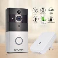 CTVMAN Wireless IP Doorbell Camera PIR Video Door Phone Battery Doorphone Intercom Security Wifi Doorbells With