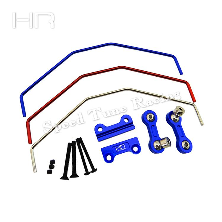 все цены на Hot Racing Aluminum Sway Bar Front/Rear Traxxas X-maxx X Maxx онлайн
