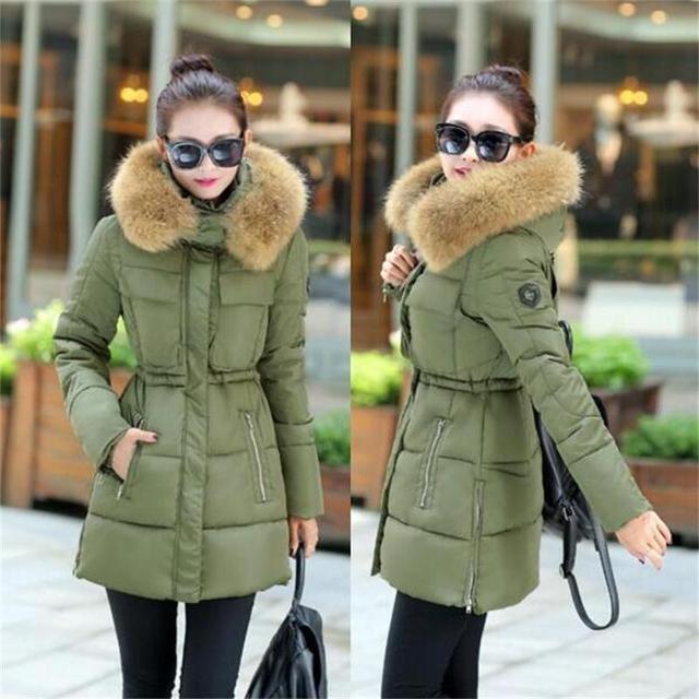 Aliexpress.com : Buy 2016 New Fashion Winter Jacket Women Large ...