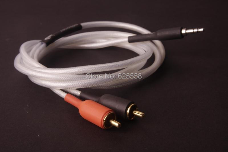 1.5m Nordost odin Jack 3.5mm to 2 RCA audio cable adapter male to male