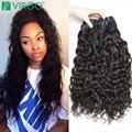 Brazilian Virgin Hair Water Wave Natural Wave 4Pcs/Lot Curly Weave Human Hair Bundles Virgo Wet And Wavy Virgin Brazilian Hair