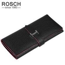 ROSCH Frauen Brieftasche Pu-leder 2016 Multicolor Haspe Kupplung Geldbeutel für Frauen Berühmte Marke Frauen Geldbörsen für Karten