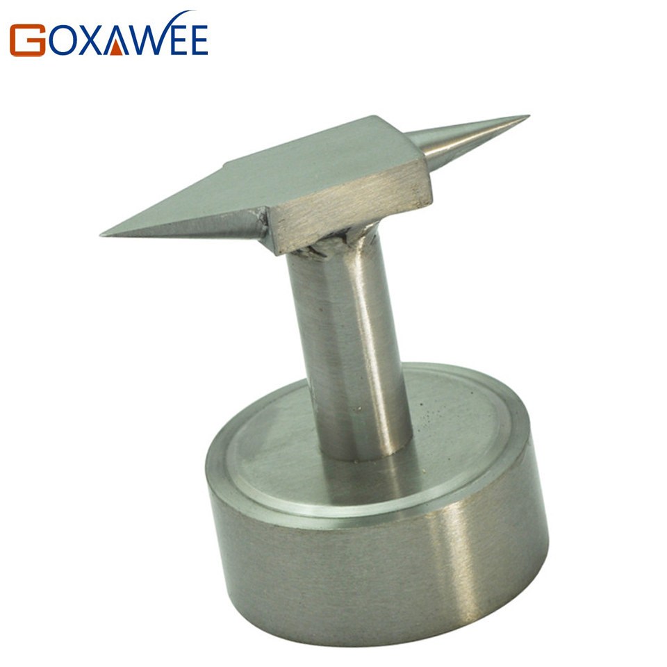 GOXAWEE Horn Anvils Steel Bench Jewelry Tool Repairing Horn Anvils Jewelry Tools Blacksmith s Anvil Hardware