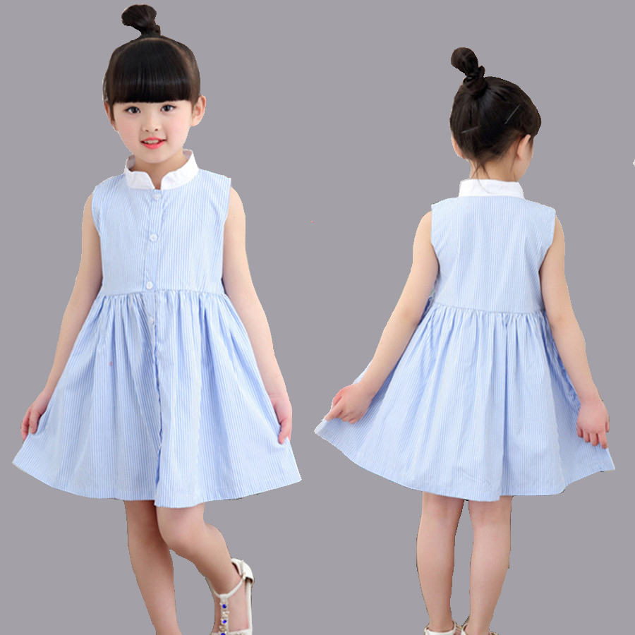 Beautiful crochet dresses for kids trendy - Girls Dress Summer Beautiful Cotton Plaid Dress Kids 2017 Casual Button Dresses For Children Fashion Pretty Dresses For Girls