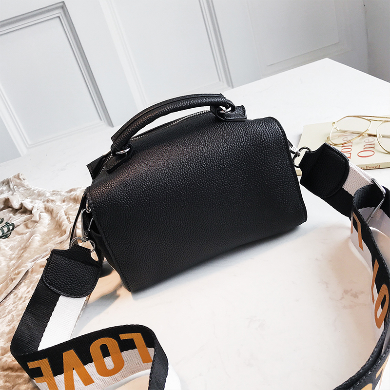 New Women Messenger Bag Fashion Brand Design Handbags High Quality PU Leather  Shoulder Bags Stripe Ladies Dress Totes Sac a main-in Shoulder Bags from ... 7a342e1aee934