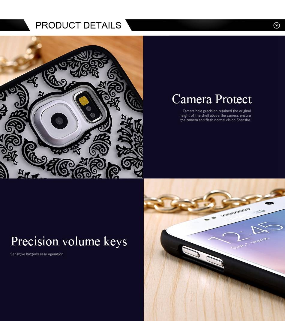 For Samsung Galaxy S5 S6 Edge S7 S7 Edge Note 4 Note 5  (6)
