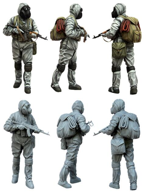 1/35 Resin Figure Stalker Style III 1pc Model Kits