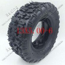 13X5.00-6 inch tire snow plow tires butterfly flower 13 * 5.00-6 beach