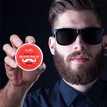 1Pc New Natural Face Beard Balm Professional Men Shape Grooming Healthy Conditioner Moisturizing Moustache Products XN35F