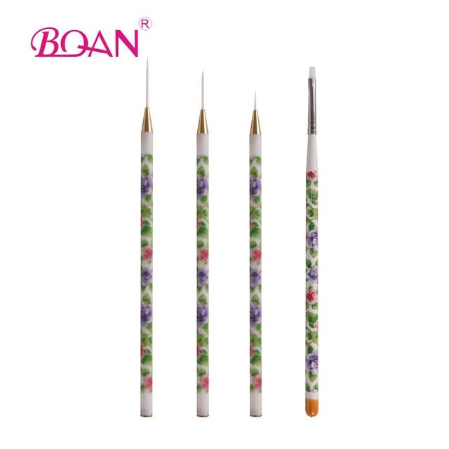 Retail 1 set uv gel acrylic nail art brushes set tips builder retail 1 set uv gel acrylic nail art brushes set tips builder painting pen gift free prinsesfo Choice Image