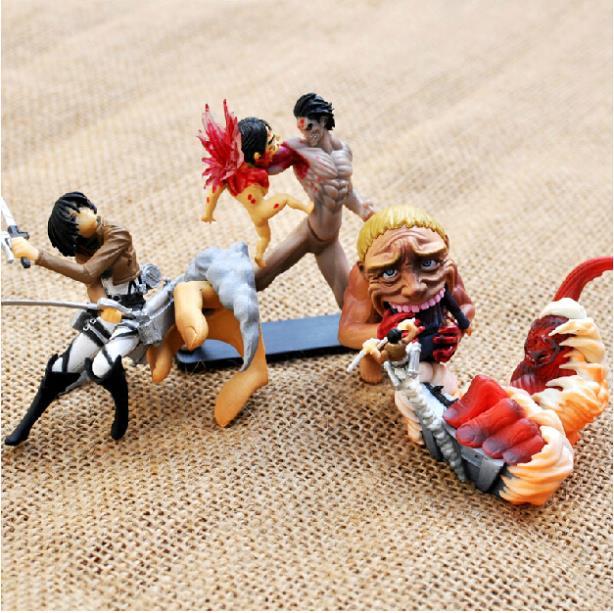 Attack on Titan PVC Action Figures