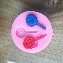 DIY silicone molds for cake decorating fondant mold soap Lollipop sugar chocolate mould bakeware kitchen