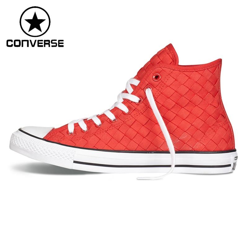 Prix pour Original Nouvelle Arrivée Converse ALL STAR Unisexe Planche À Roulettes Chaussures Toile Sneakers