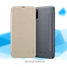 Dla Coque Samsung Galaxy A20 A30 M20 przypadku oryginalny Nillkin Sparkle serii ciężka skórzana pokrywa A30 A20 M20 telefon Fundas Capa torba
