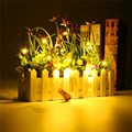 1M 20 LED Wine Bottle Lamp Cork Shaped LED String Light Night Starry Fairy Light For Party Gift Home Decoration
