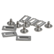 Titanium Ti Bolts & Spacers for Shimano SPD SL Pedal Cleat SM-SH10, 11, 12 цена