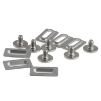 Titanium Ti Bolts & Spacers for Shimano SPD SL Pedal Cleat SM SH10, 11, 12
