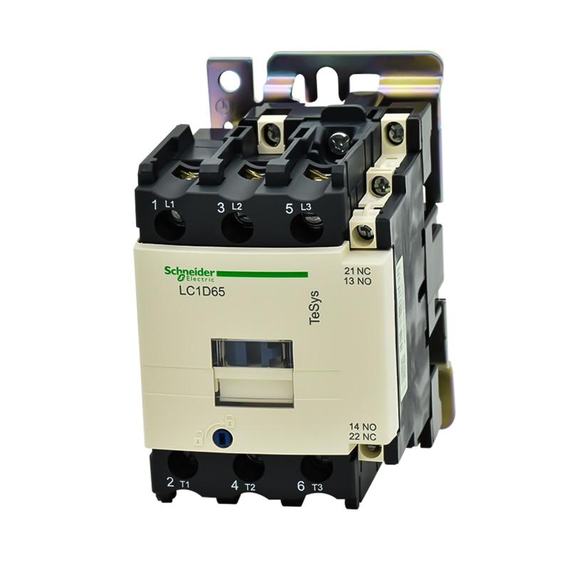 Original authentic Schneider AC contactor LC1D65M7C F7C AC220V 110V contactorOriginal authentic Schneider AC contactor LC1D65M7C F7C AC220V 110V contactor
