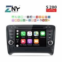 Android 8,0 автомагнитолы автомобильный DVD для Audi TT 2006 2014 7 HD стерео Bluetooth RDS FM аудио видео gps навигация Carplay