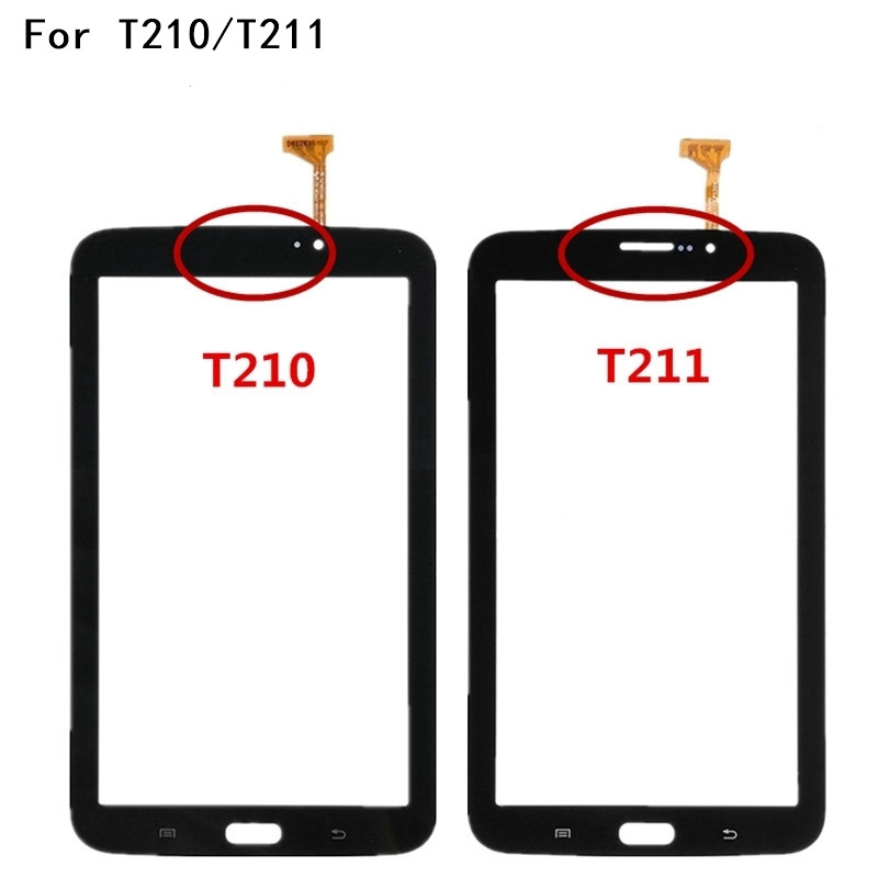 7.0 Touch Screen For Samsung Galaxy Tab 3 7.0 SM-T210 SM-T211 T210 T211 Touch Panel Digitizer Glass Sensor With Logo