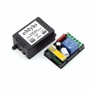 Image 2 - EMylo RF 433 Mhz Fernbedienung Lichtschalter AC 220V 230V 240V 1000 Watt 2X Sender 15X 1Ch Relais Kippschalter Fernbedienung Control