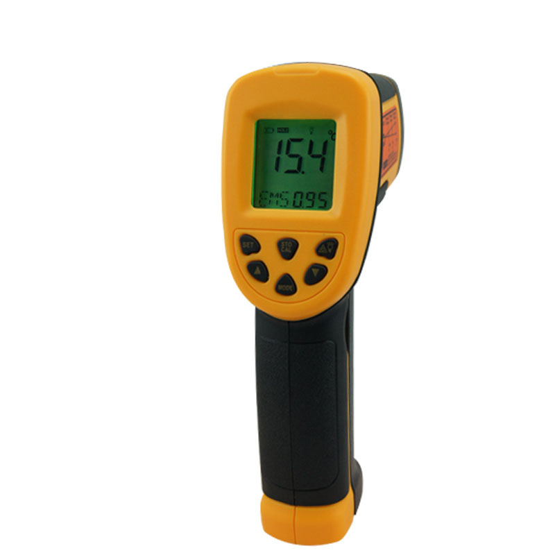 NEW AS862 Non-Contact Precise Digital IR Laser Infrared Pointer Thermometer -50degree to 900 Degree Gun Free Shipping  t010 new digital temperature meter tester mastech ms6520a laser pointer non contact infrared ir thermometer free shipping