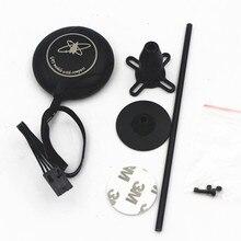 M8N GPS con brújula + soporte de pie GPS negro para DJI NAZA M Lite V1 V2 controlador de vuelo F450 S550 Quadcopter