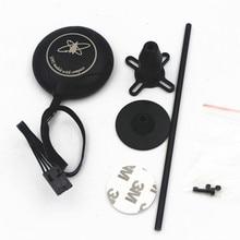 M8N GPS met Kompas + Zwart GPS Stand Houder voor DJI NAZA M Lite V1 V2 Vlucht Controller F450 S550 quadcopter