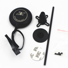 M8N GPS mit Kompass + Schwarz GPS Stand Halter für DJI NAZA M Lite V1 V2 Flight Controller F450 S550 quadcopter
