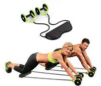 Tension Foldable Revoflex Xtreme Rally multifunction pull rope wheeled health abdominal muscle training home fitness equipment