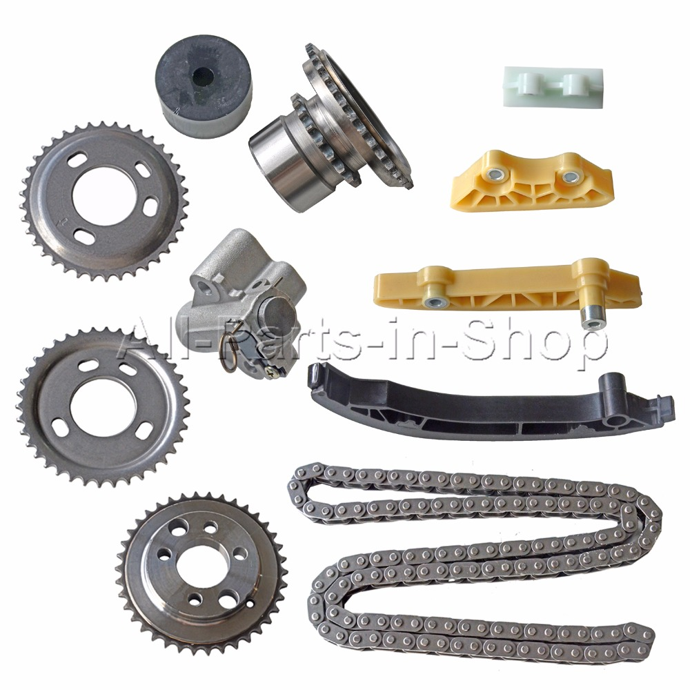 Transit Parts Transit MK7 Timing Chain Kit 2.4 RWD 2006 On Gears Chain Guides Tensioner