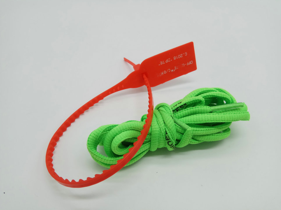 vierodis Black White Orange Green OW Signed Shoelaces Bootlaces For Off white zip tie Printing SHOELACESvierodis Black White Orange Green OW Signed Shoelaces Bootlaces For Off white zip tie Printing SHOELACES