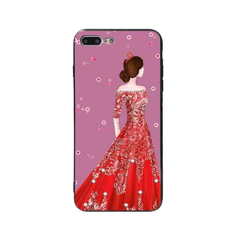 Yinuoda פריז יופי נושא רך סיליקון כיסוי מקרה עבור iPhone X XS XR XSMax 5 5S SE 8 8 בתוספת 7 7 בתוספת 6 s 6 sPlus