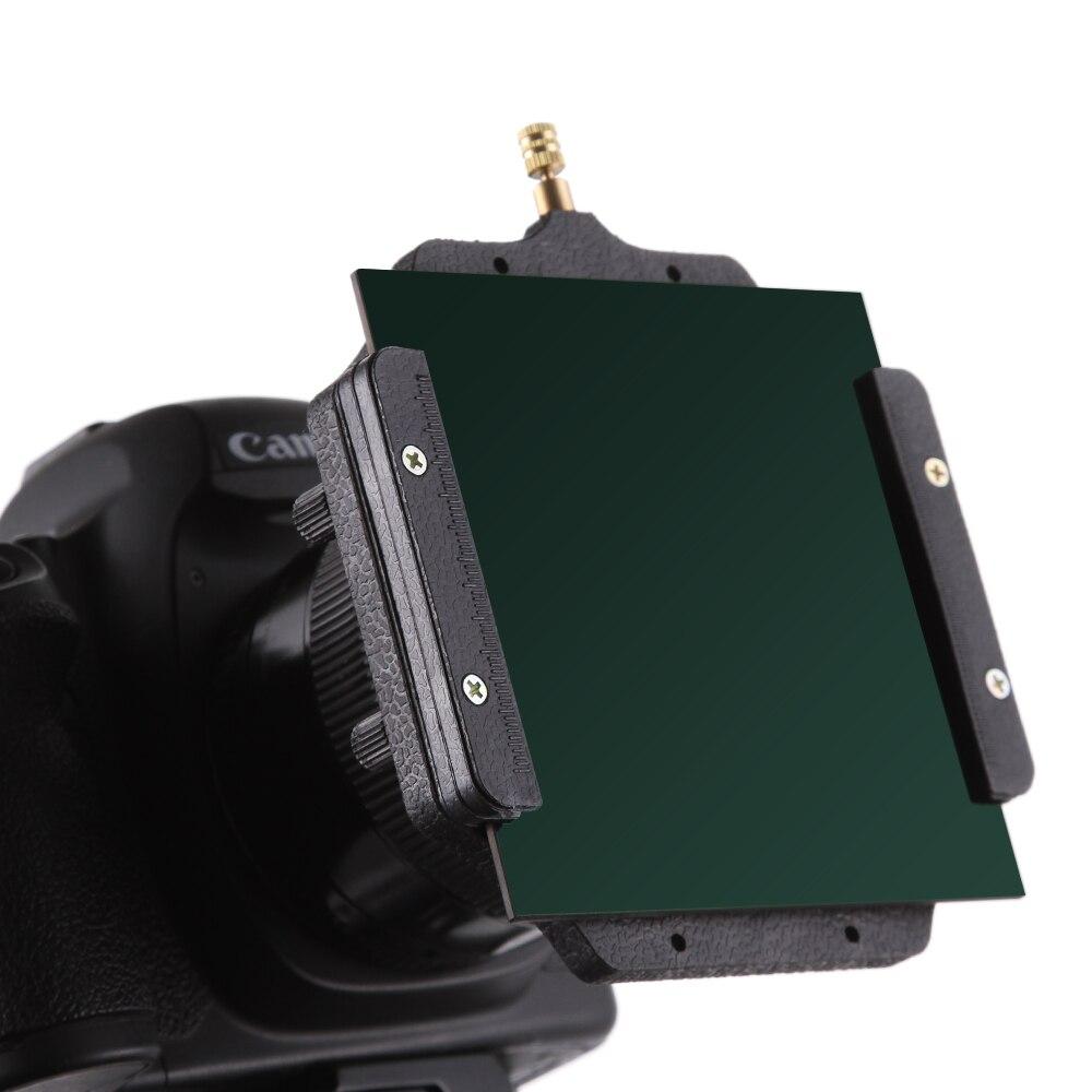 """Verre optique 100mm ND1000 ND 3.0 carré 4x4 """"filtre 10 arrêts comme LEE gros bouchon-in Caméra Filtres from Electronique    1"""
