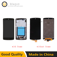 For LG Google Nexus 5 D820 D821 LCD Display Touch Screen Digitizer with Bezel Frame Full Assembly Replacement Free Shipping