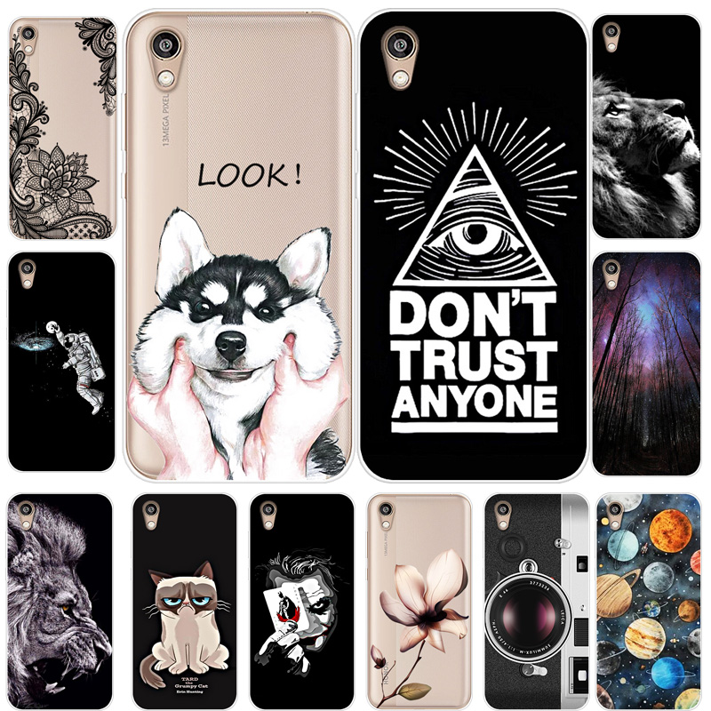 Cover Phone-Case Tiger-Printing Huawei Honor Silicone Planet For Cat KSE-LX9 8S