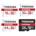 Toshiba tarjeta de memoria 16g/32g/64g/128g u3 sd micro sdhc sdxc clase 10 flash tarjeta microsd para smartphones tablet mp3 y cámara