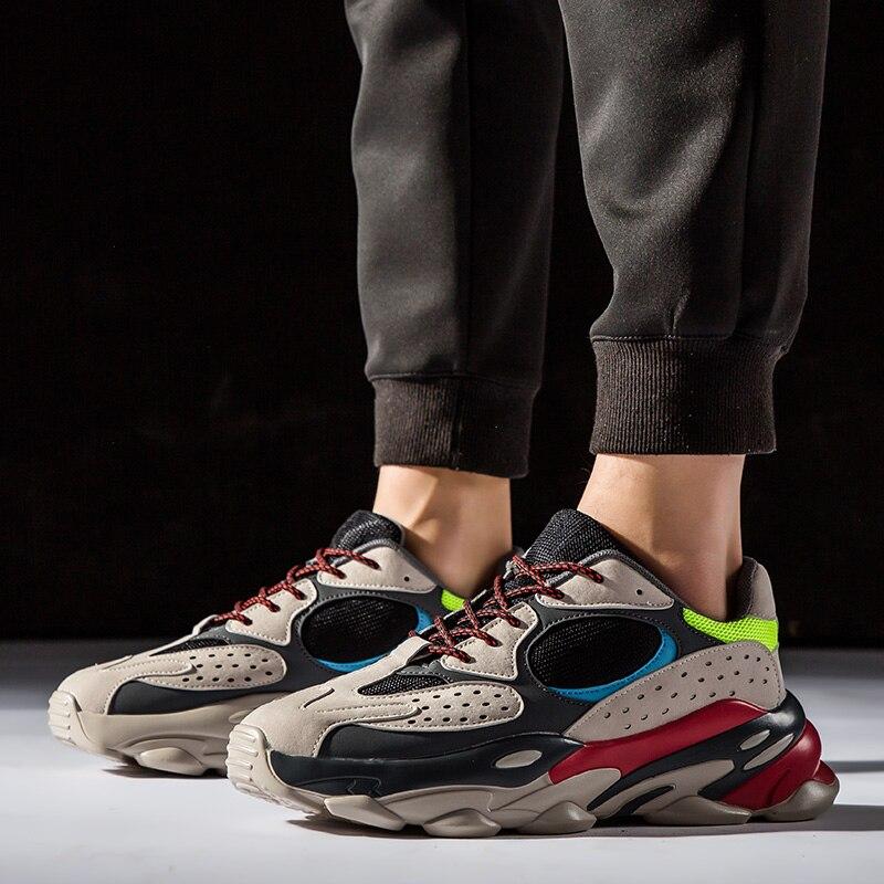 Hommes papa sport baskets V2 chaussures décontractées coloré chunky baskets 700 en plein air marche course chaussures panier Zapatillas Hombre