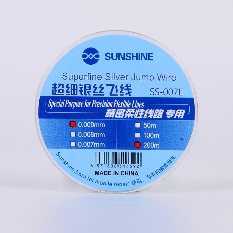 Ultra-fine Silver Wire Fly Line S-007E Precision Flexible Circuit Dedicated 0.007mm Superfine Silver Jump Wire