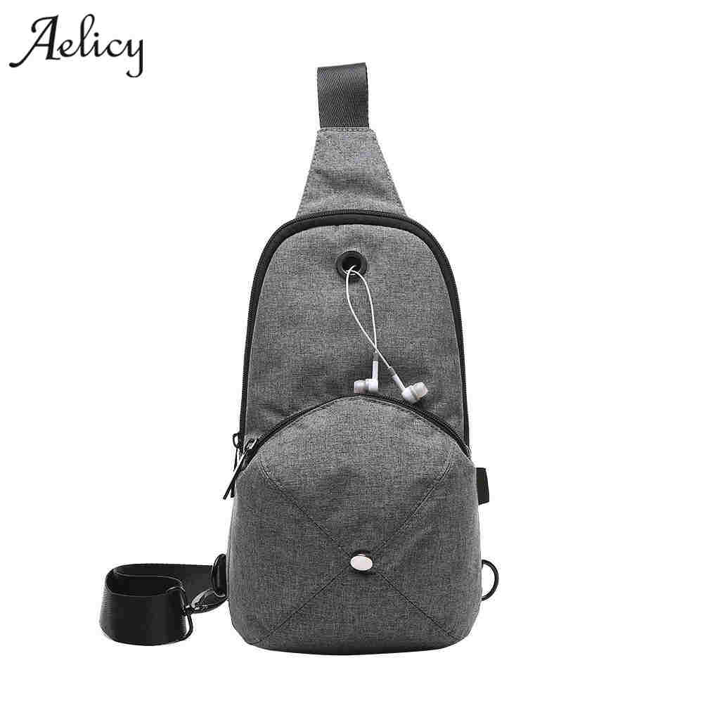 Chest Pack Multifunctional Men Messenger Bags Casual Travel Male Small Man Military Shoulder Bag