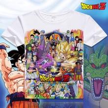 New Japan anime Dragon Ball Z T Shirt Super Saiyan printed t shirt men Son Goku Tees Tops Men Clothes high quality XD-015