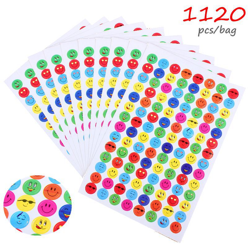1120pcs Emoji Stickers Laptop Sticker Adesivo font b Notebook b font Stickers Set Classic Toy For